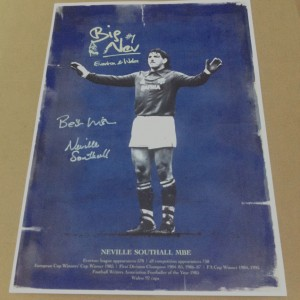 Neville Southall Signed Print