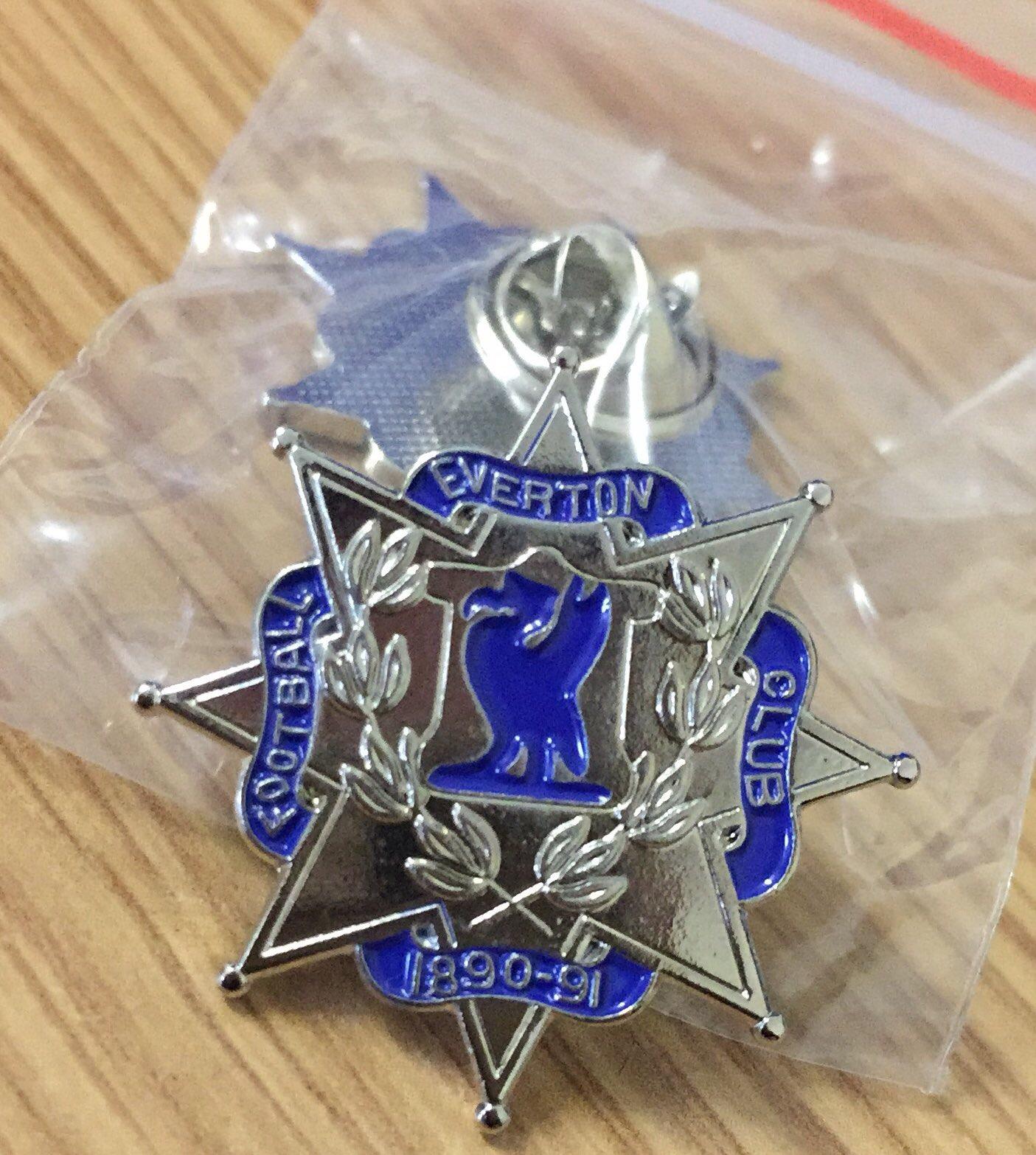 League Champions 1890 91 Enamel Pin Badge Toffee Art